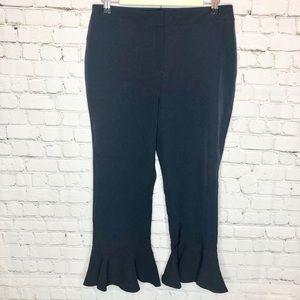 🧡 5/$25 Cynthia Rowley Señorita Frill Pants